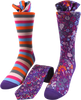 Pansy Bloom Men's Tie and Socks Set