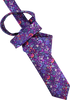 Pansy Bloom Men's Tie