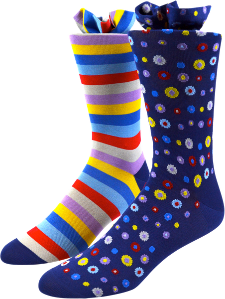 Polka Dot Men's Socks