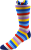 Polka Dot Men's Striped Socks