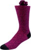 Purple Galaxy Men's Dot Socks