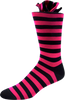 Purple Galaxy Men's Striped Socks