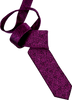 Purple Galaxy Men's Tie