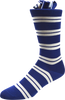 Regent Checks Men's Striped Socks