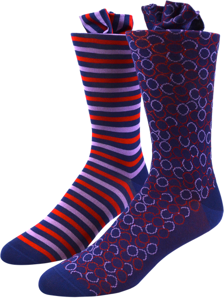Repeating Roundabout Men's Socks