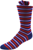 Repeating Roundabout Men's Striped Socks