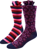 Rose Mix Men's Socks
