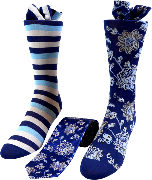 Royal Orchard Men's Tie and Socks Set