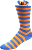 Summer Whirlwind Men's Striped Socks