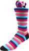 Wildflower Garden Men's Striped Socks