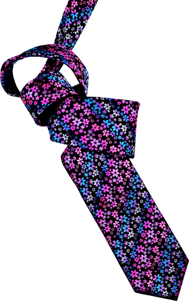 Wildflower Garden Men's Tie