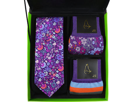 Men's Peargo Tie and Socks Set