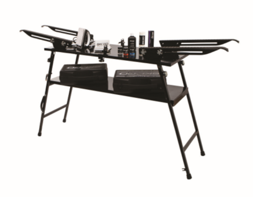 Table Waxingbench two skis