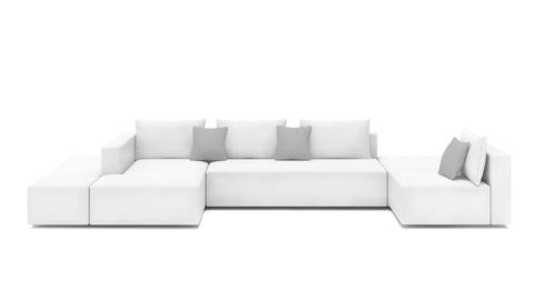 Lindsey Left Face Sectional - Modern HD