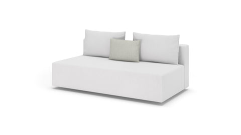 Lindsey Armless Sofa - Modern HD