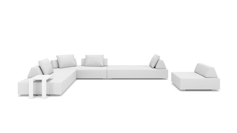 Oahu Large Sectional Left Face - Modern HD