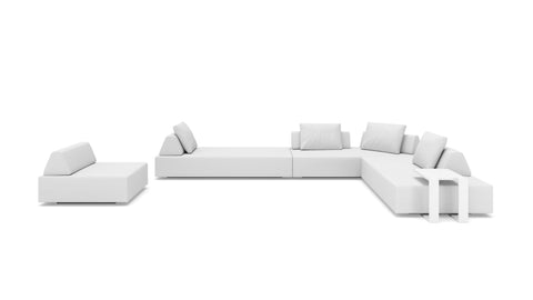 Oahu Large Sectional Right Face - Modern HD