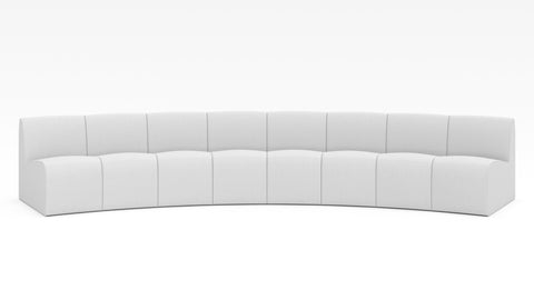 Wave Inward Sectional - Modern HD
