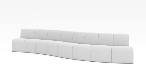 Wave Sectional Large - Modern HD
