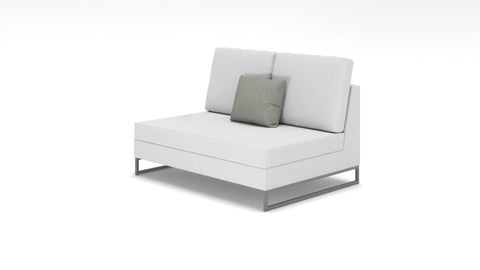 Laguna Armless Love Seat - Modern HD