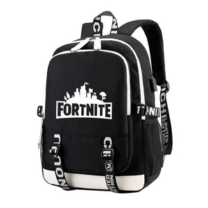 Men Letter Printed Laptop Backpack Female Nylon Travel Schoolbag Casual Rucksack Student School Bags for Teenage Boys BackPacks