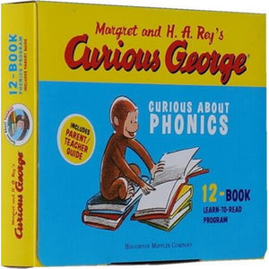 12pcs/set Curious George Curious gift natural spelling original English Illustrated Children's picture Books
