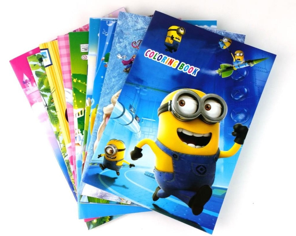 English story books for children colour book  Kids Books English Reading Learning Book Printing