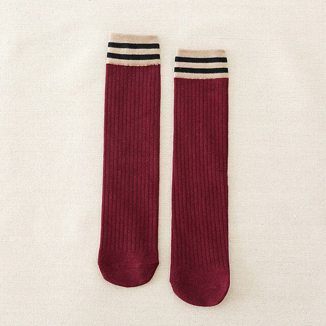 20 pairs/pack Wholes Female Socks Cotton Solid Color Women's Mid Long Tube Socks Autumn and Winter Girl Sock Wholesale