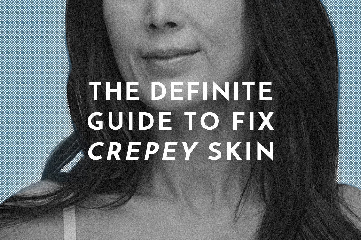 The Definite Guide to Fix Crepey Skin in 2020 Wrinkle Treatment anti wrinkle anti aging