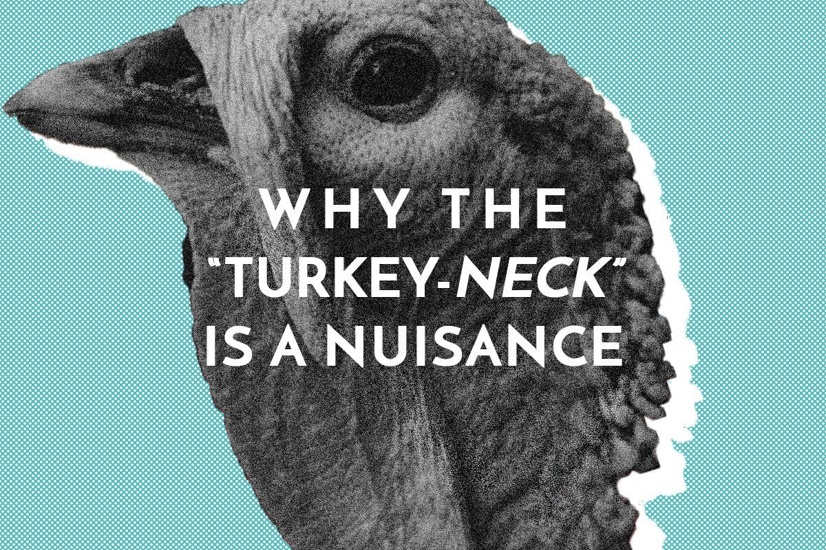 What is turkey neck and why don't we want it? Neck wrinkles
