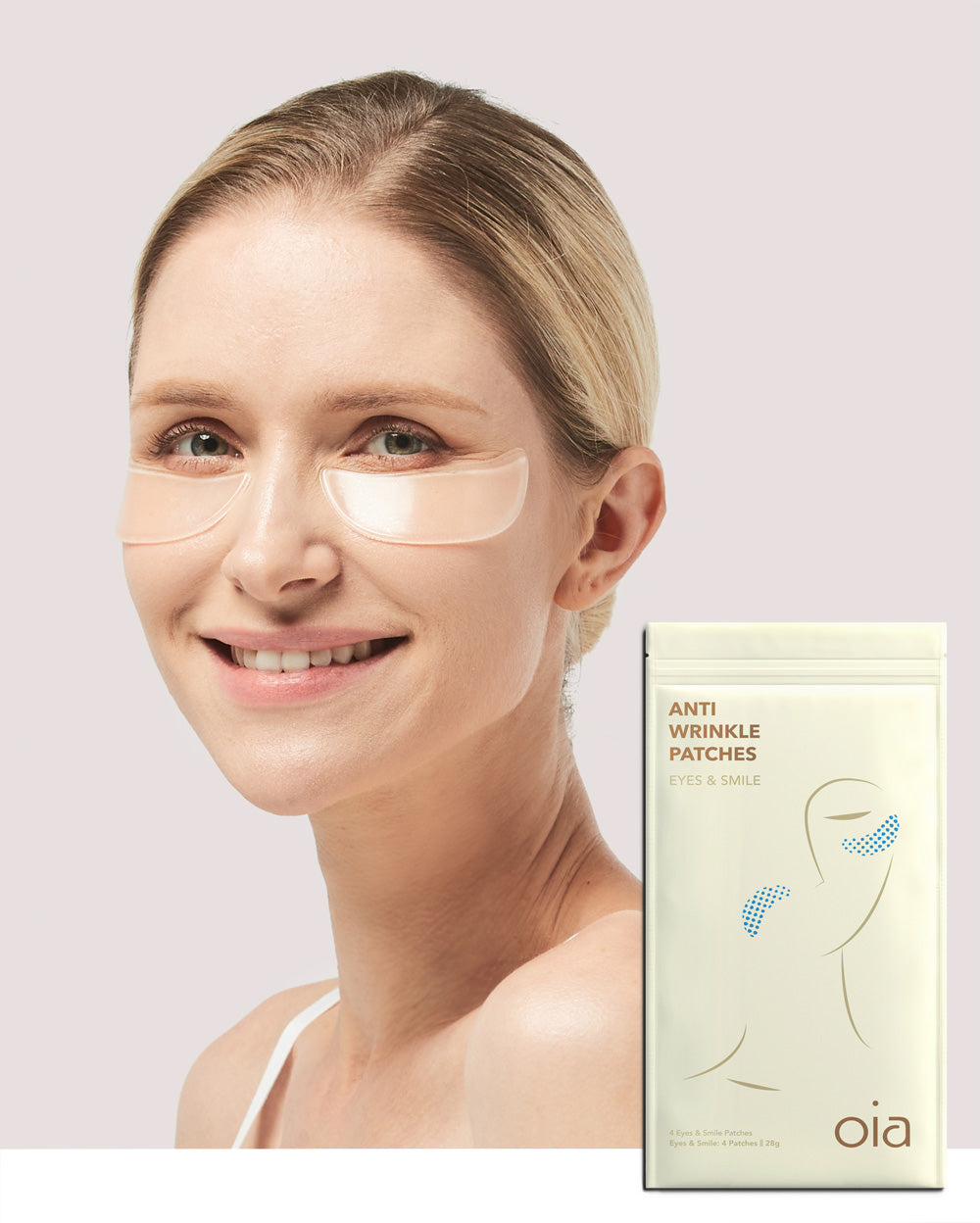 Anti-Wrinkle Patches for Eyes & Smile