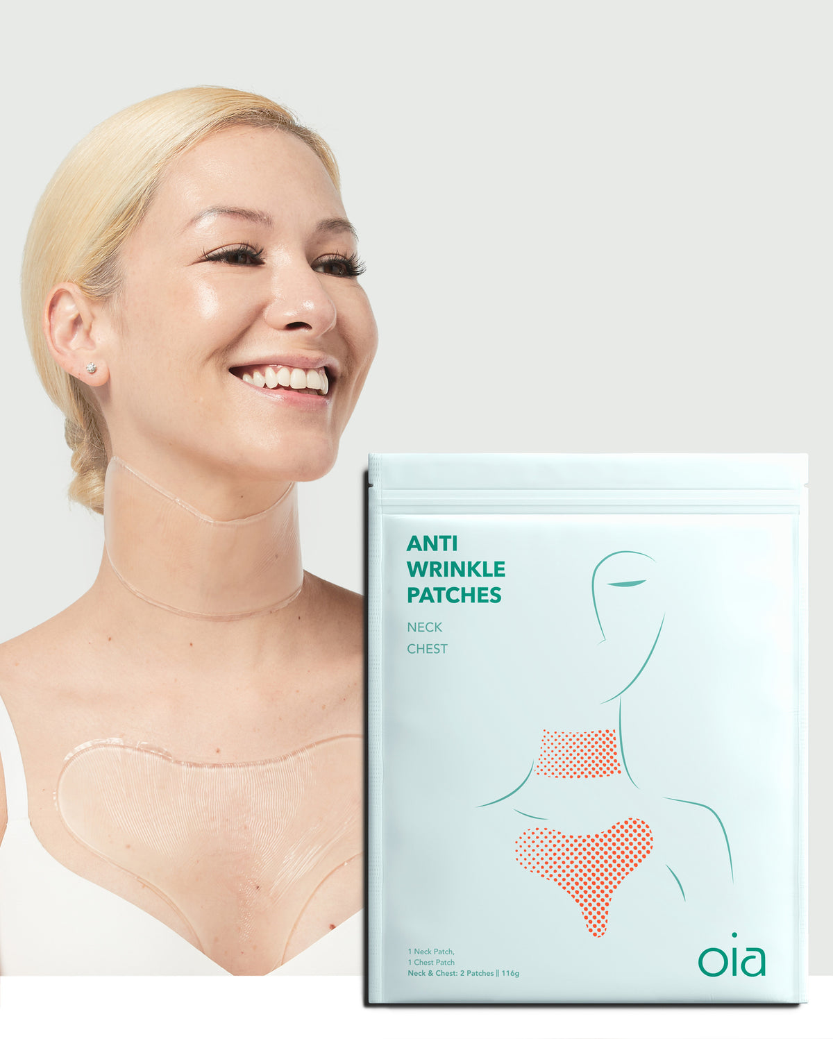 Anti-Wrinkle Patches for Neck & Chest