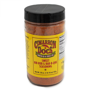 Cimarron Doc's Sweet Rib Rub & Bar-B-Q Seasoning