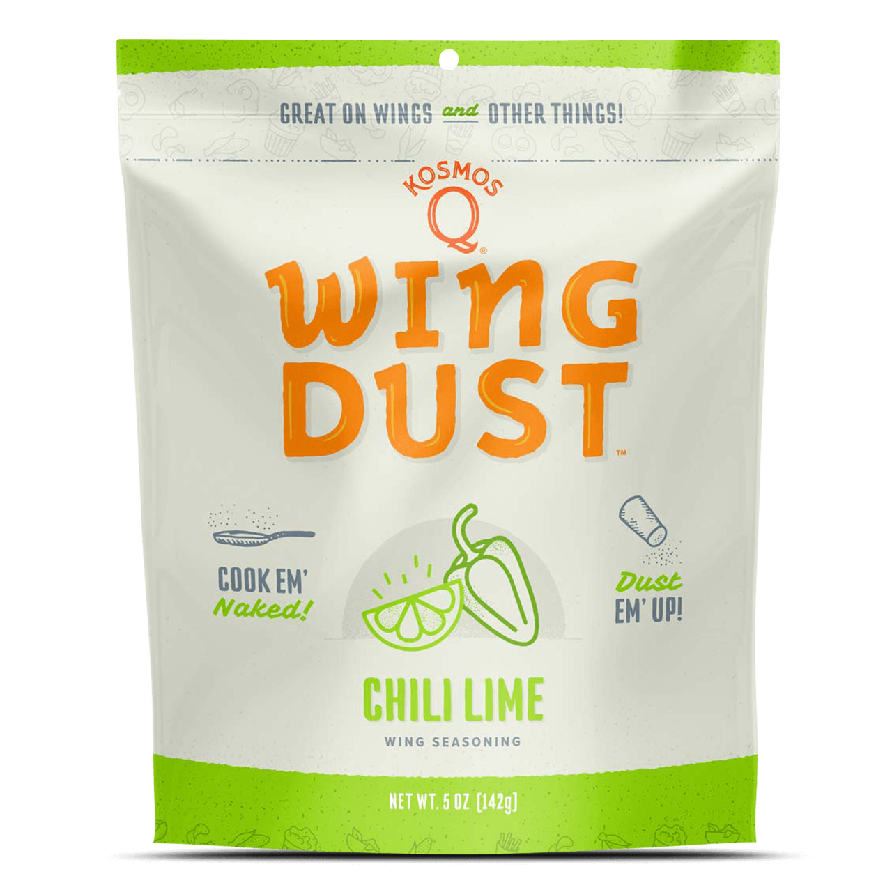 Kosmos Chili Lime Wing Dust