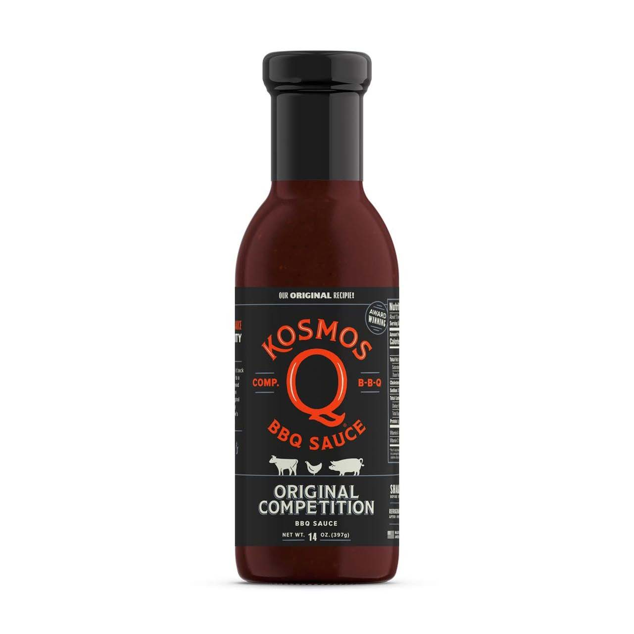 Kosmos Competition Sauce