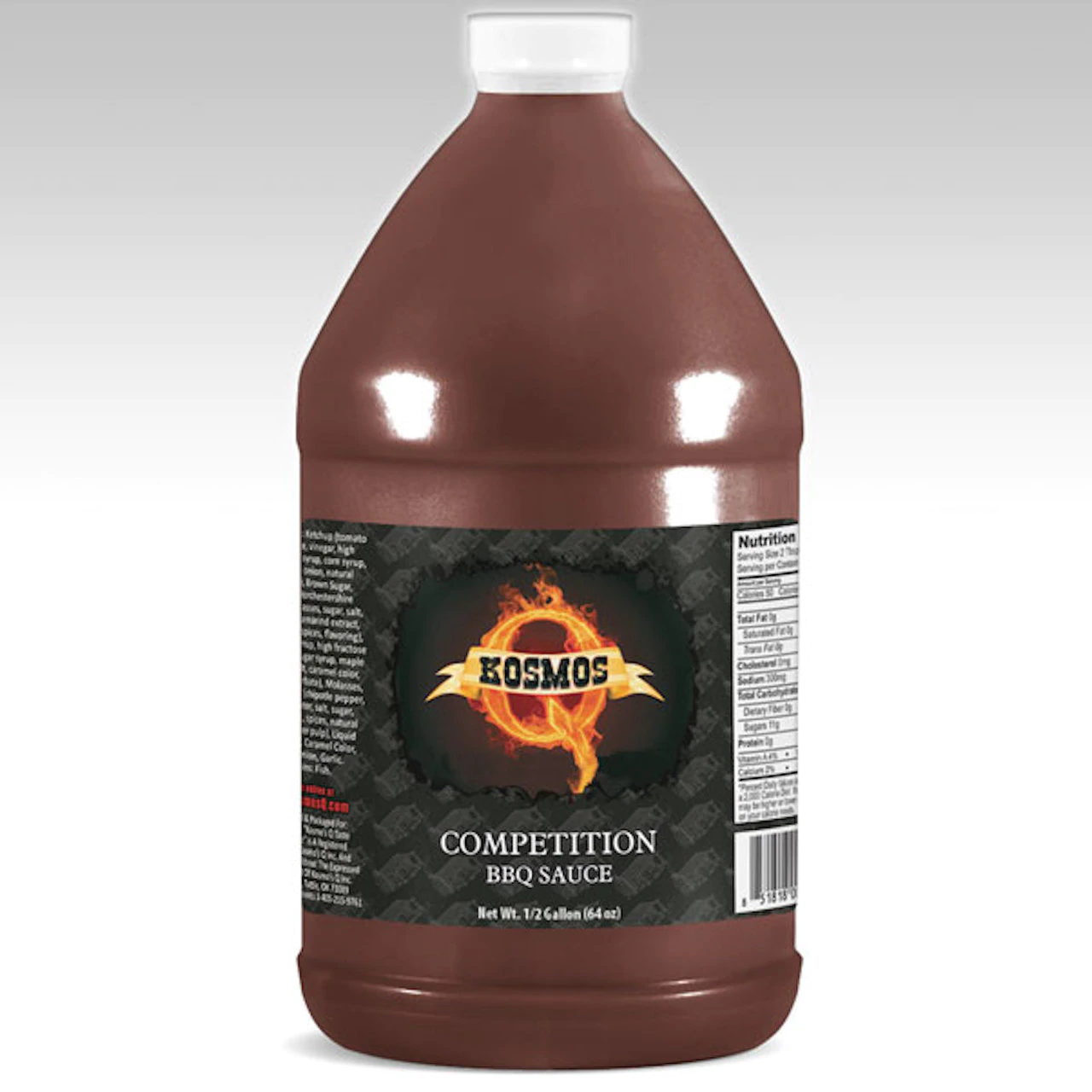 Kosmos Competition BBQ Sauce 1/2 Gallon