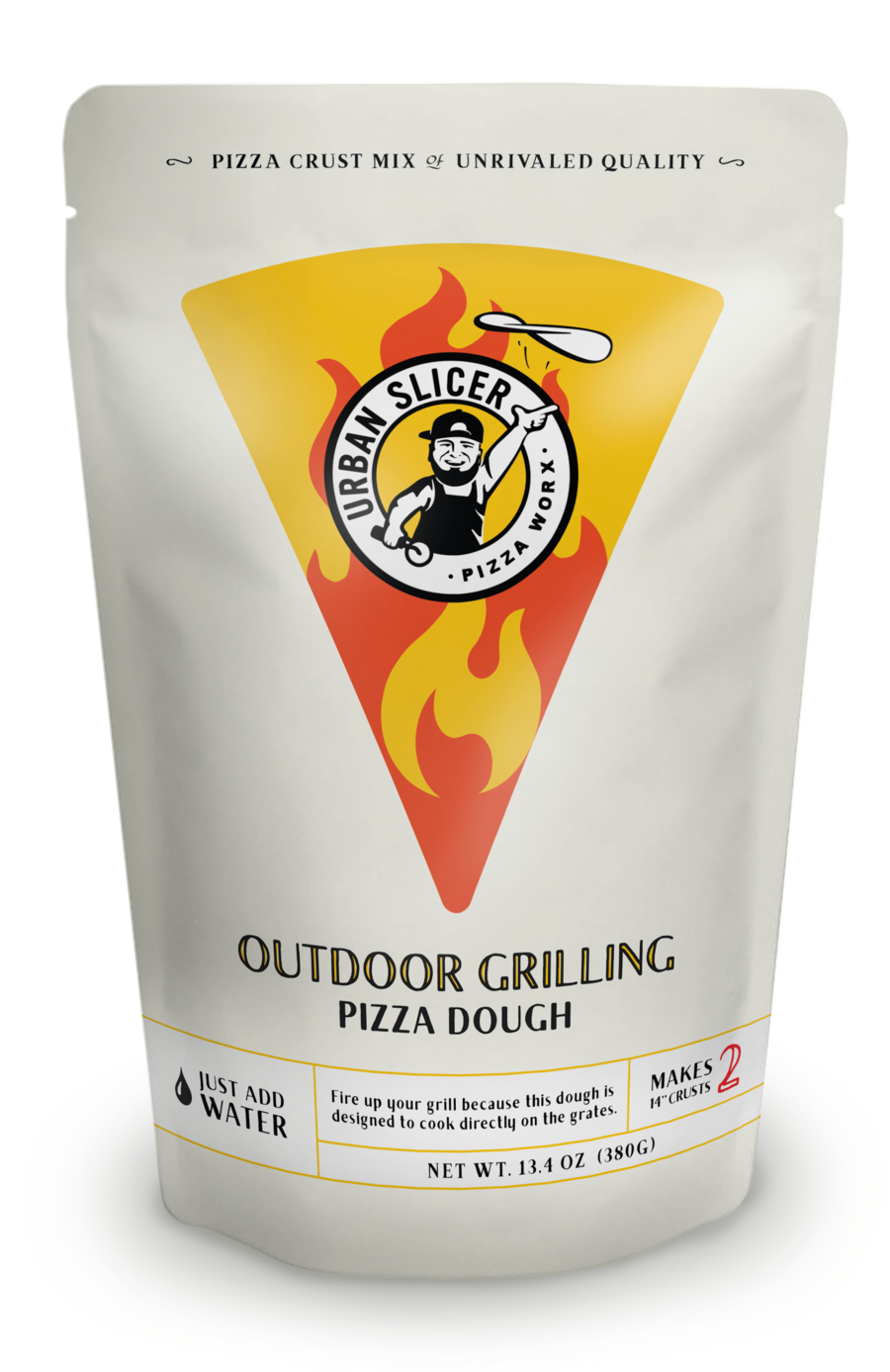 Urban Slicer Grilling Pizza Dough Mix