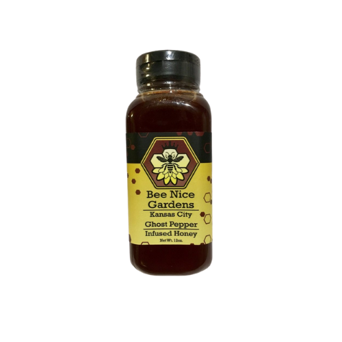 Bee Nice Garden Ghost Pepper Honey