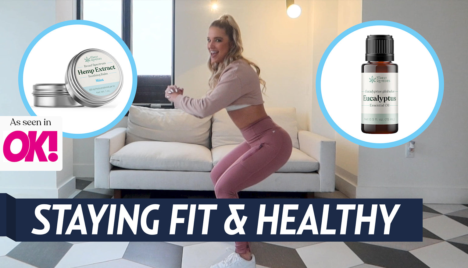 Trainer Jill Barger Shares Three Do-At-Home Pro Moves