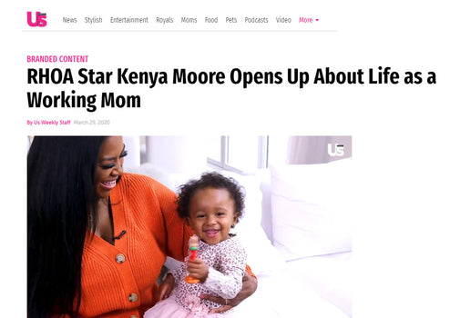 RHOA Star Kenya Moore Opens Up About Life as a Working Mom