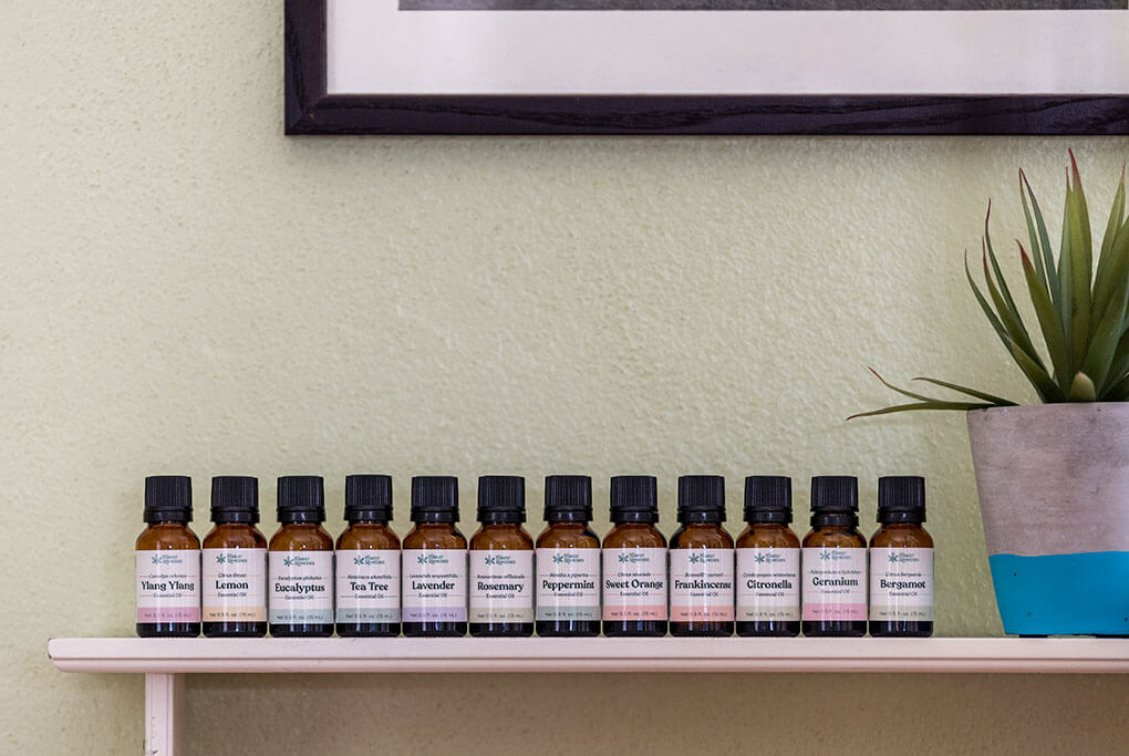 Ways to store your essential oils