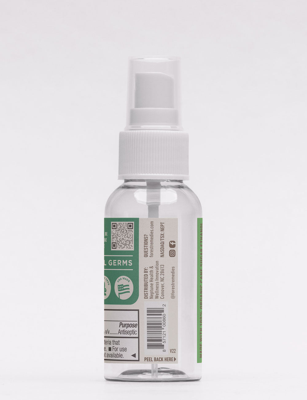 Plant-based Rosemary Hand Sanitizer Spray