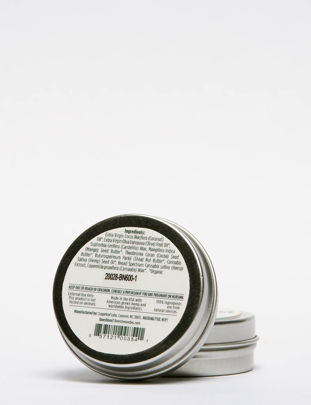 Hemp CBD Soothing Balm - Natural
