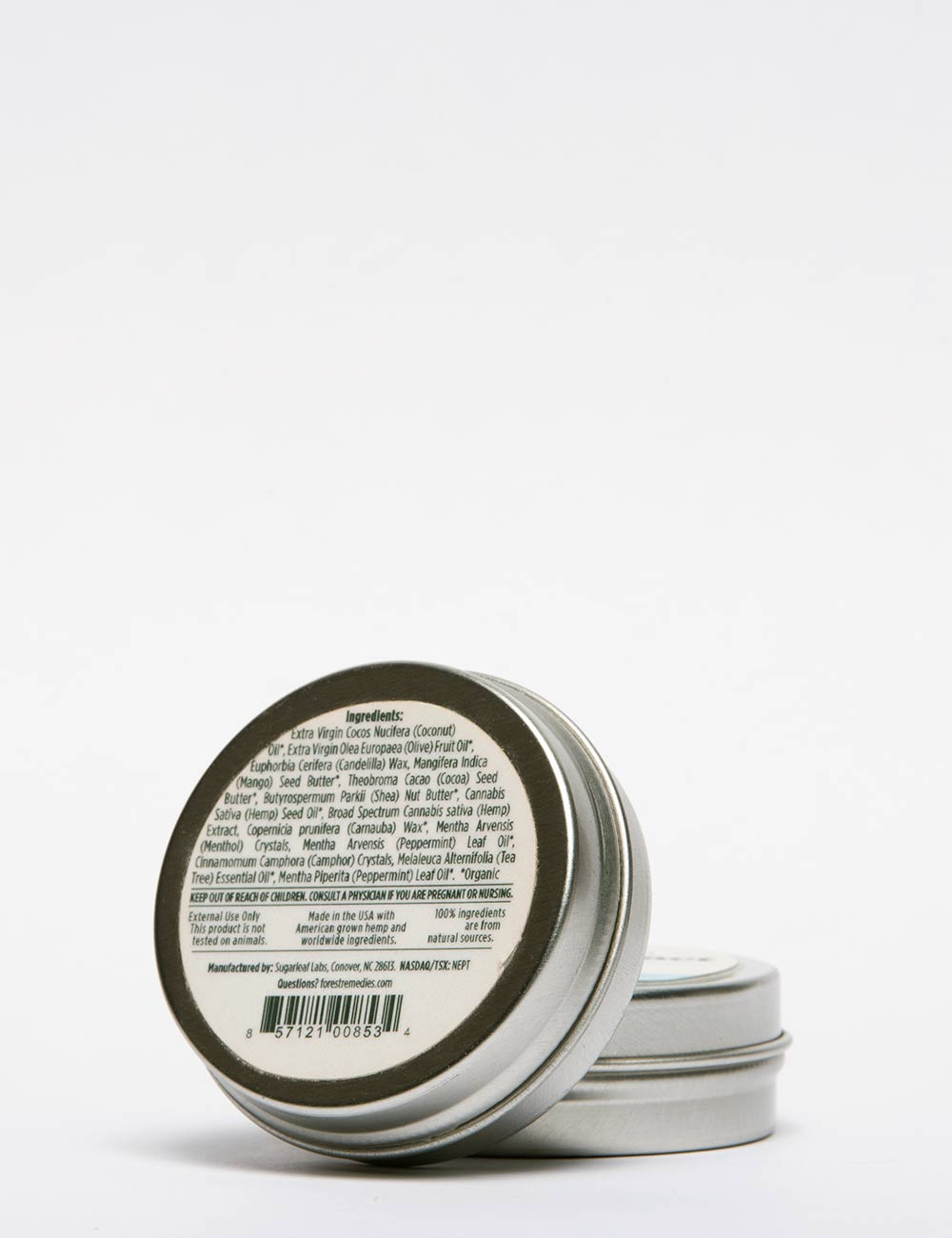 Mint Hemp CBD Oil & Balm