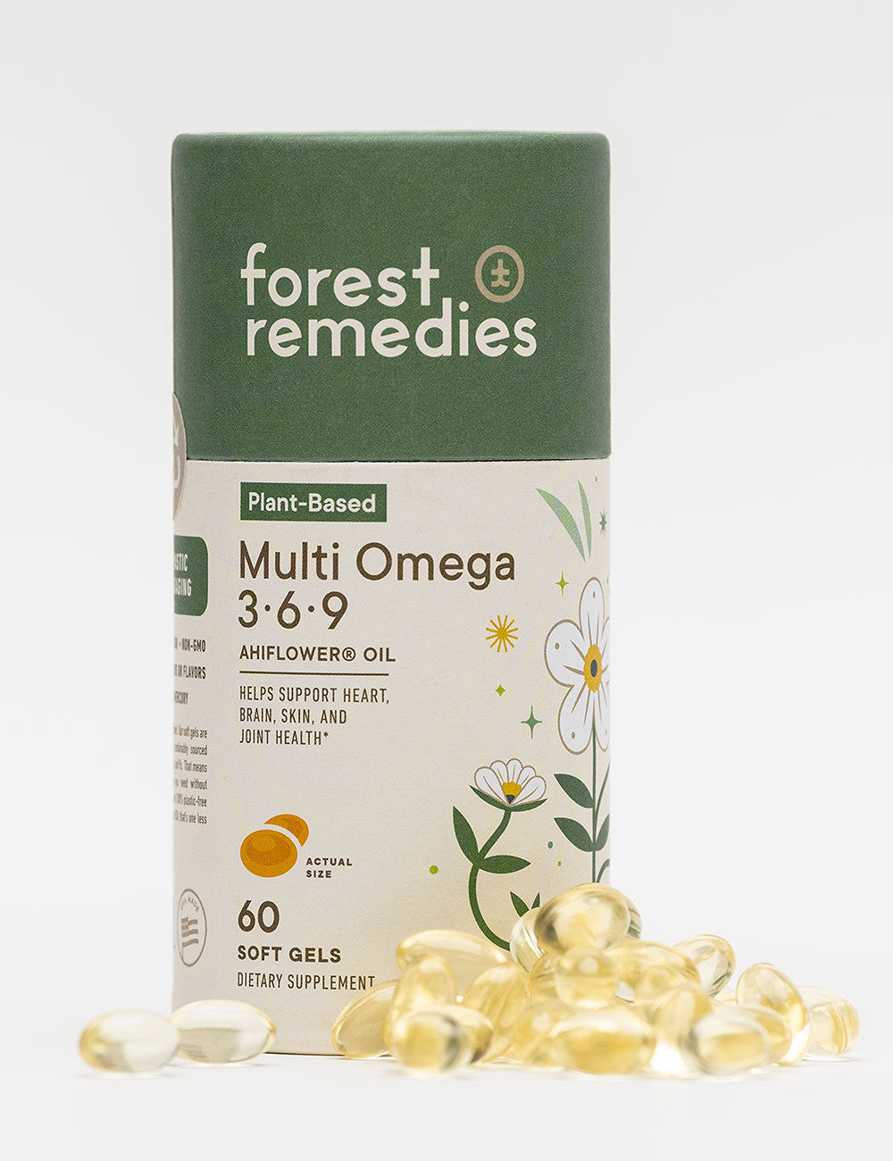 Multi-Omega 3-6-9 with Ahiflower Oil Soft Gels