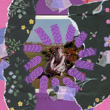 Load image into Gallery viewer, Handmade Mixed Media Collage Artwork On Paper - Naomi Vona Art