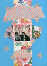 Load image into Gallery viewer, Retro Vintage Style Mixed Media Collage On Paper - Naomi Vona Art