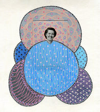 Load image into Gallery viewer, Pattern Art Collage On Handmade Paper - Naomi Vona Art