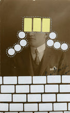 Load image into Gallery viewer, Contemporary Art Collage On Vintage Man Portrait - Naomi Vona Art