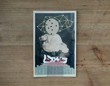 Load image into Gallery viewer, Dadaist Collage Over Baby Portrait Photo - Naomi Vona Art